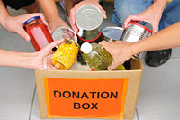 Donation class for Second Harvest Food Bank