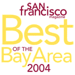 San Francisco Magazine Best Pilates Studio of the Bay Area 2004